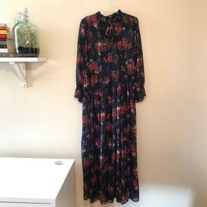 Forever 21: Sheer Floral Maxi Dress